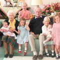 Elizabeth II, le prince Philip et les 7 arrière-petits-enfants : la photo jamais vue