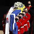 Le mot d'Elizabeth II posé sur le cercueil du prince Philip
