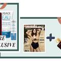 Trois produits au choix avec votre magazine Madame Figaro en kiosque