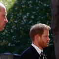 Les princes William, Harry et Kate Middleton aux funérailles du prince Philip : la photo qu'on n'espérait plus