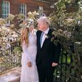Robe de location et pieds nus : le mariage à l'anglaise de Carrie Symonds avec Boris Johnson