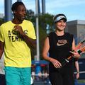 Gaël Monfils et Elina Svitolina, les fiancés de Roland-Garros