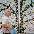 Damien Hirst, l'artiste super star de l'été à Paris