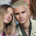 RomeoBeckham et sa petite amie Mia Regan, blonde sensation dans les tribunes de Wimbledon
