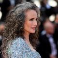 La spectaculaire chevelure grise d'Andie MacDowell sur le tapis rouge du Festival de Cannes