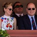 En photo, rares retrouvailles des enfants illégitimes d'Albert de Monaco, Jazmin et Alexandre Grimaldi