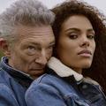 Vincent Cassel et Tina Kunakey, couple charismatique de la nouvelle campagne The Kooples
