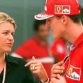 """Corinna, l'inébranlable épouse de Michael Schumacher, """"quoi qu'il arrive"""""""
