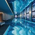 Visite privée du spectaculaire spa Dior Cheval Blanc et sa piscine aux mille reflets