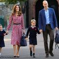 Pourquoi on ne verra pas de photos de la rentrée des enfants de Kate Middleton et du prince William