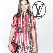 Jennifer Connelly, égérie sixties de Louis Vuitton