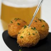 Mini-croquettes de crevettes grises