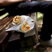 Sandwichs roulés au pain lavash