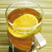 Thé glacé thym citron