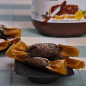 Bonbons croustillants au Nutella