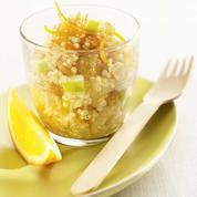 Taboulé de quinoa aux fruits dici