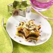 Petite tarte banane et pâte à tartiner