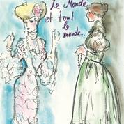Quand Karl Lagerfeld redessinait l'Histoire de la mode pour Madame Figaro
