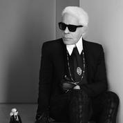 Karl Lagerfeld et son