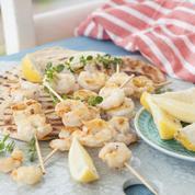 À la plancha ou au barbecue, nos idées recettes de brochettes pour l'été