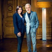 Anne Hidalgo et Ralph Toledano :