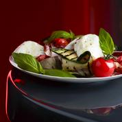 Salade de légumes grillés et mozzarella di bufala