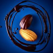 Madeleines citron-chocolat