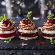 Quinze recettes festives de verrines, toasts ou cakes pour un apéritif dînatoire spécial fêtes