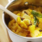 Chutney de mangue au gingembre
