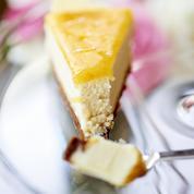 Cheesecake à la marmelade d'orange et fruits de la passion