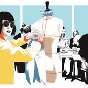 Dans les coulisses des studios de création de mode