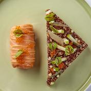 Saumon, granny-smith, risotto de quinoa