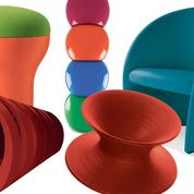 Un air pop souffle sur le mobilier design