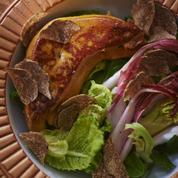 Foie gras poêlé et endive