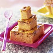 Gâteau à la citrouille et aux noix de pécan