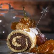 Gâteau roulé choco-noisettes