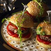 Mini burger méditerranée