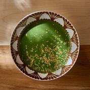 Soupe de cresson et quinoa grillé