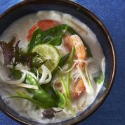 Soupe thaïe aux vermicelles