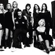 Charlotte Gainsbourg, Anja Rubik, Asia Argento... Anthony Vaccarello pose avec ses muses