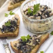 Farce au foie gras truffé