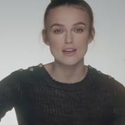 Keira Knightley chante en français pour Chanel