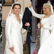 Kate Middleton, Grace Kelly, Letizia d'Espagne... Les robes de mariée de la royauté