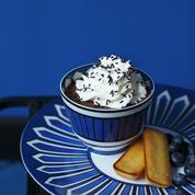Mousse au chocolat et chantilly