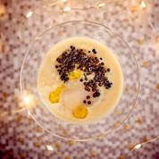 Crème de chou-fleur au caviar