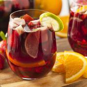 La sangria aux fruits rouges sans alcool