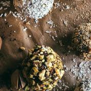 Truffes aux amandes et au chocolat