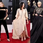 Cuir, looks futuristes et roses blanches... Les stars entre show et engagement aux Grammy Awards 2018