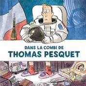 Dans la combi de Thomas Pesquet :