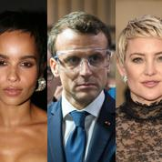 Cindy Crawford, Emmanuel Macron, Pamela Anderson : la semaine people